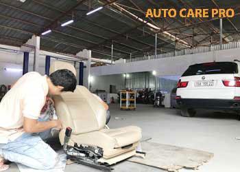 phục hồi ghế da ô tô tại TPHCM